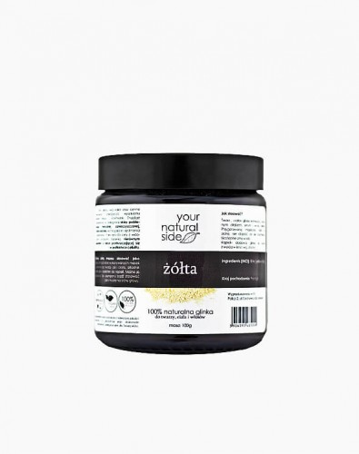 Glinka żółta 100% naturalna - Your Natural Side 100g